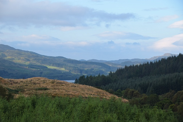 View towards Loch Awe