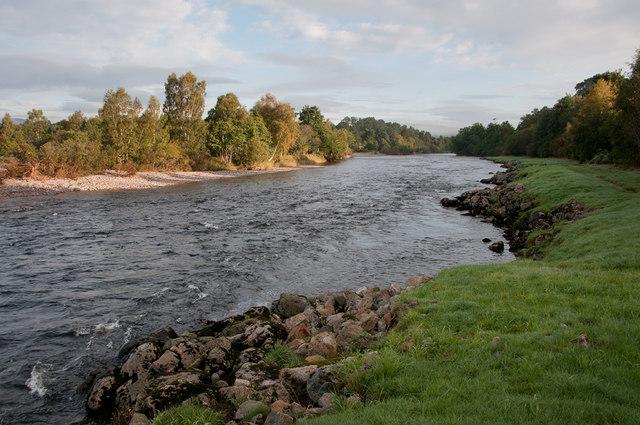 The River Dee below Birse