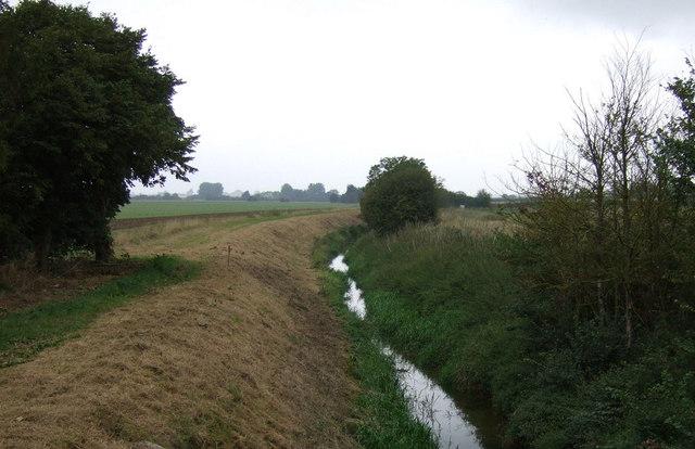 Drain near Scothern Grange