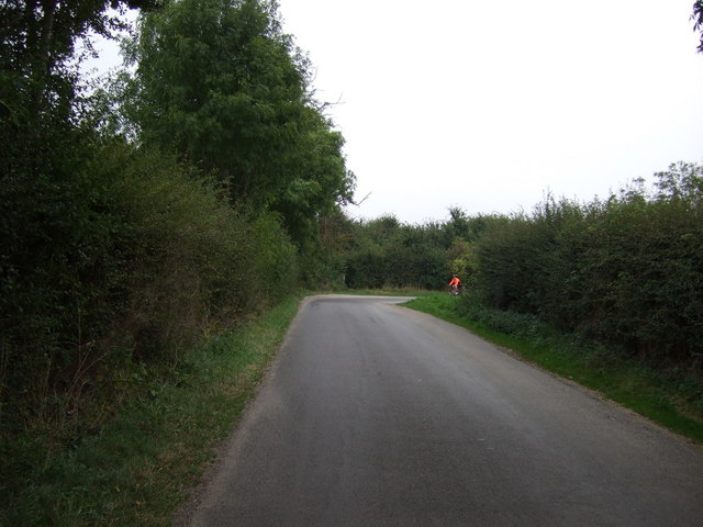 Sharp bend in National Cycle Route 1