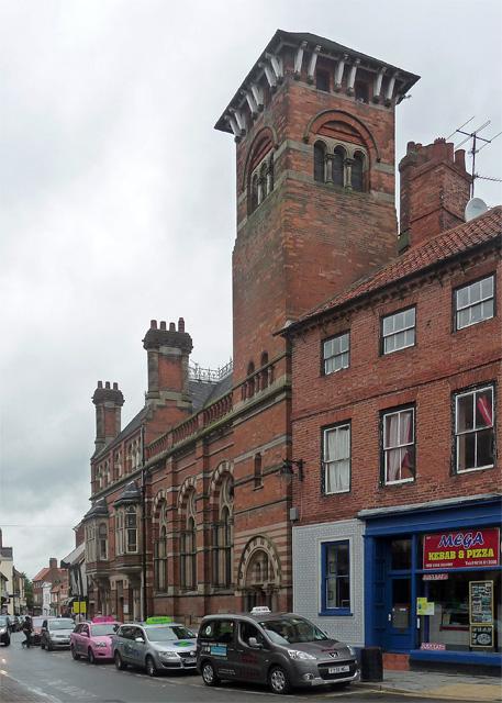 Former Nottingham and Notts Bank, Kirk Gate, Newark-on-Trent