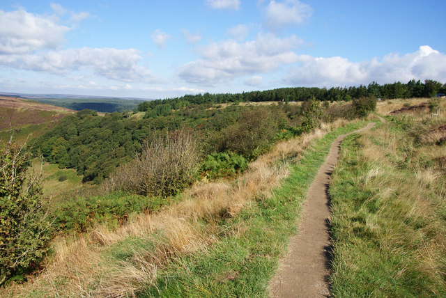 Path above the Hole of Horcum