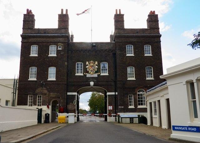 Main Gate (Pembroke) Chatham Dockyard