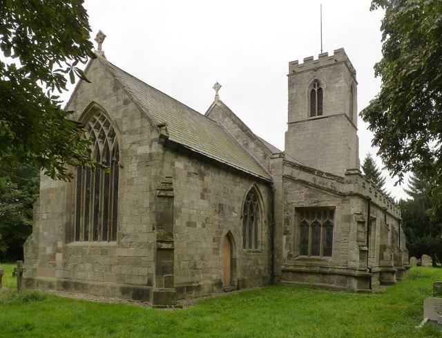 Church of St John the Baptist, Treswell