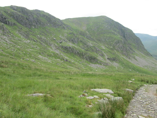 Path down from Gatescarth Pass