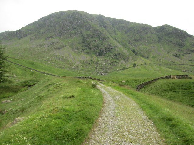 Path up the Gatescarth Pass from Mardale