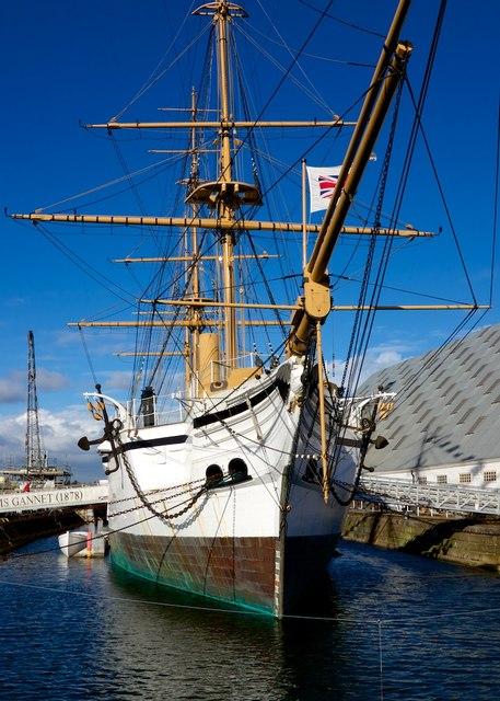 HMS Gannet 1878 Chatham Dockyard