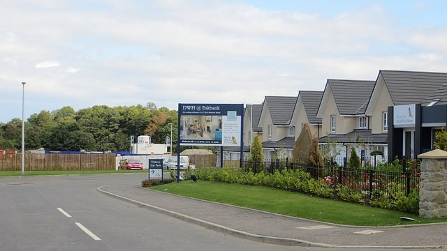 New houses, Eskbank