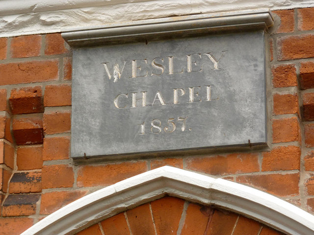 Datestone, Rampton Methodist Chapel