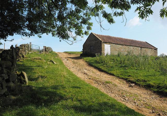 Barn near Hill End Farm