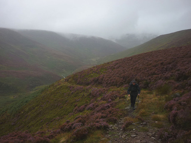 Climbing out of Bleadale