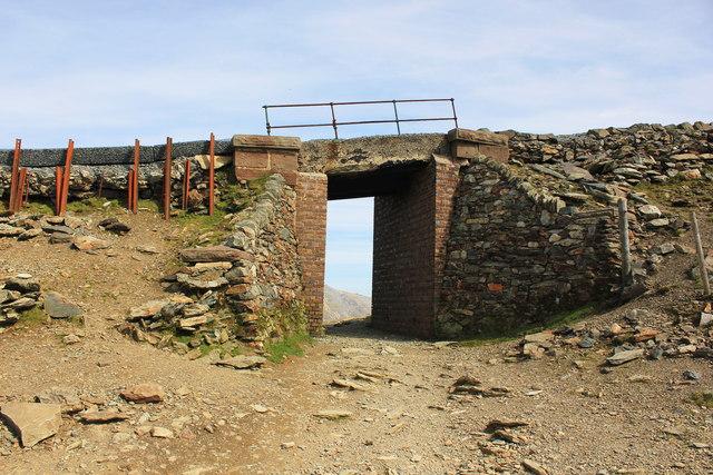 Bridge over the Llanberis Path