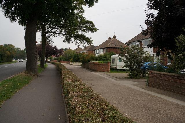 Houses on Ashridge Drive, Cleethorpes