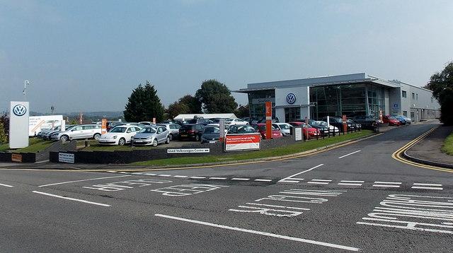 Volkswagen dealership in Bridgend