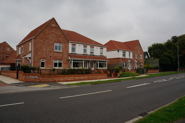 Houses at Villa Court, Humberston Road