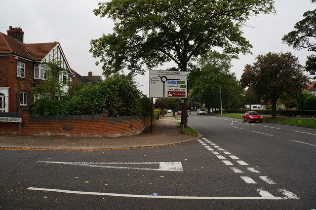 Humberston Avenue towards Lovelane Corner
