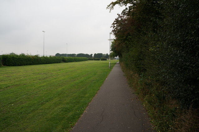 Path leading to Humberstone Road, Grimsby