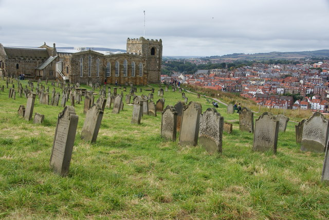 Churchyard of St Mary's, Whitby