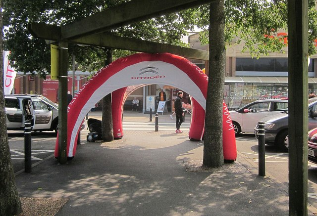 Citroen marketing at The Willows
