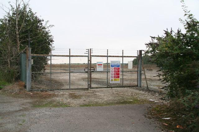 Island Gas Ltd. site opposite Scampton Airfield