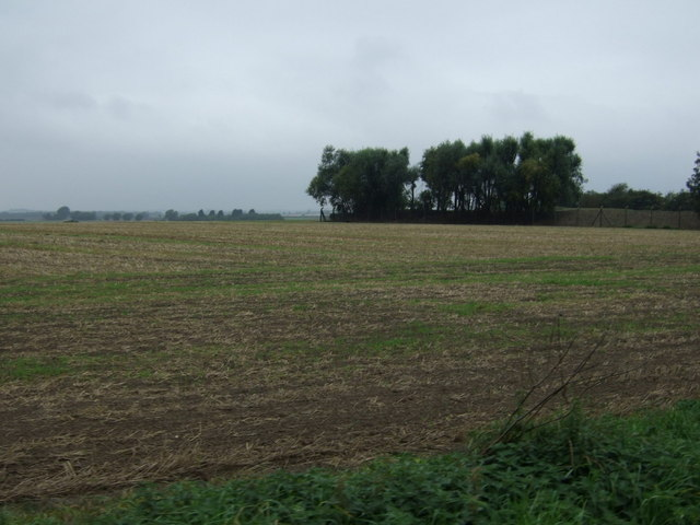 Farmland near oil pumping station