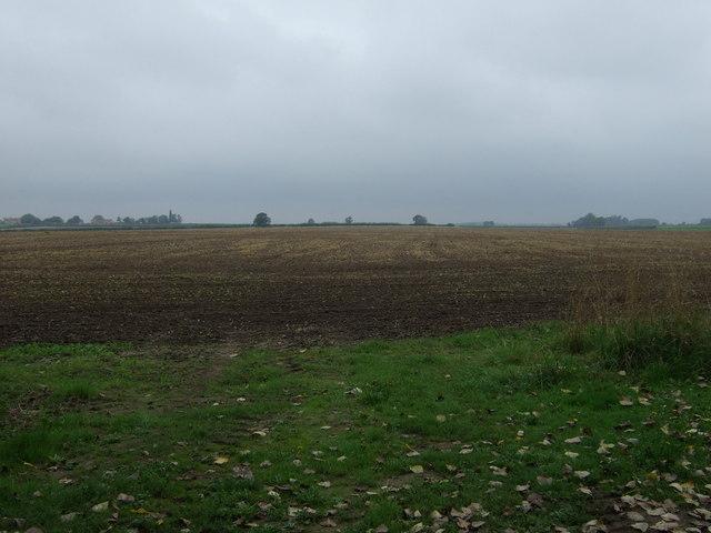 Farmland near Reasby Hall