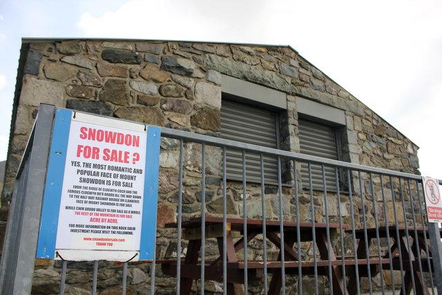 Snowdon For Sale?