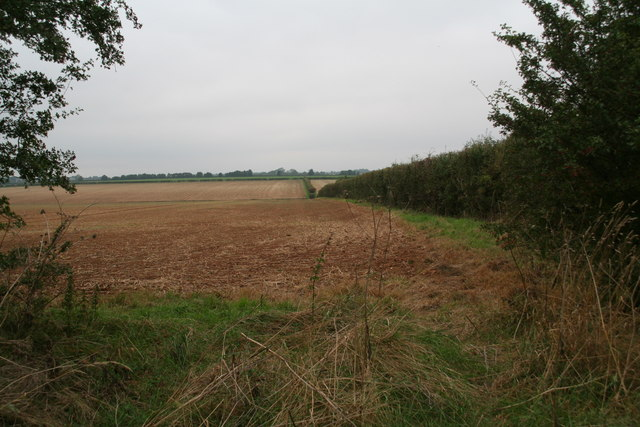 Somewhere near the footpath to Welton from Horncastle Lane