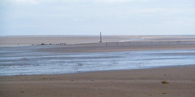 Low tide at Llansteffan