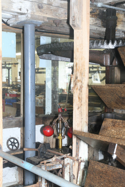 Whitchurch Silk Mill - waterwheel