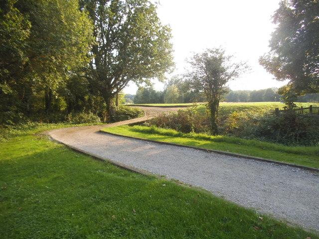 Path to Sutton Green Golf Club