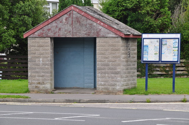 Bridgend : Bus Shelter
