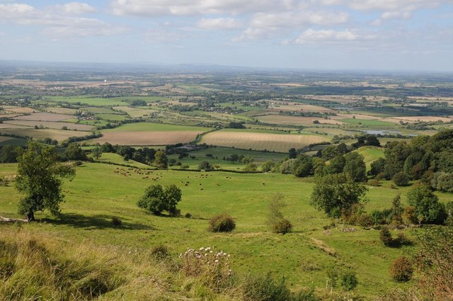 View over the Avon valley