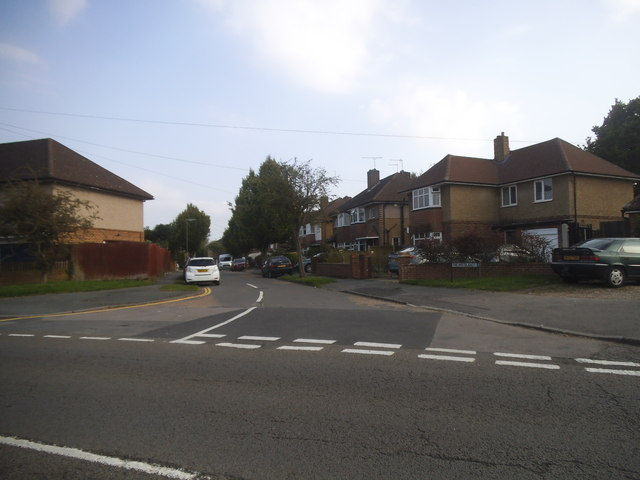 The Moorlands at the junction of Vicarage Road