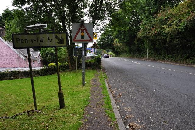 Bridgend : Bridgend Road A4063