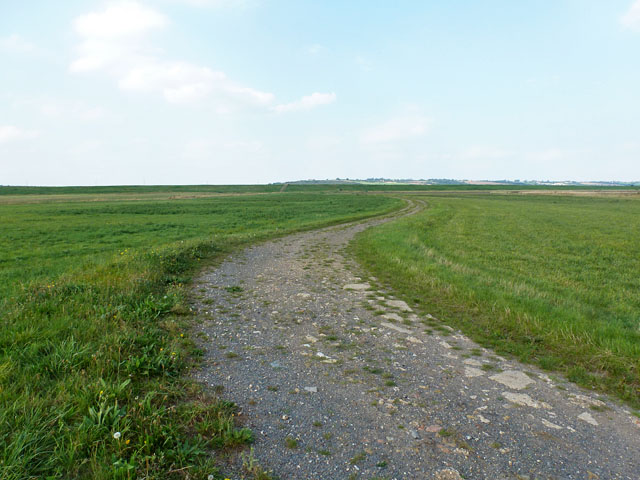 Track towards the River Crouch