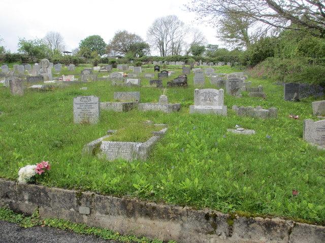 Northeastern corner of Castle Hill Cemetery