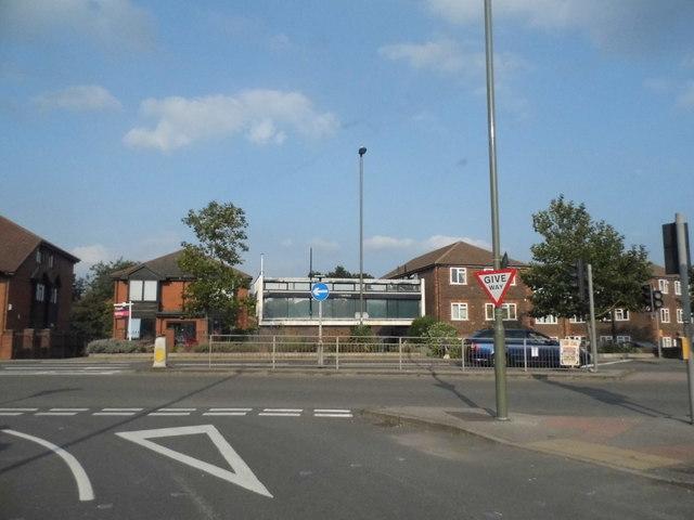 Aldershot Road at the junction of Worplesdon Road