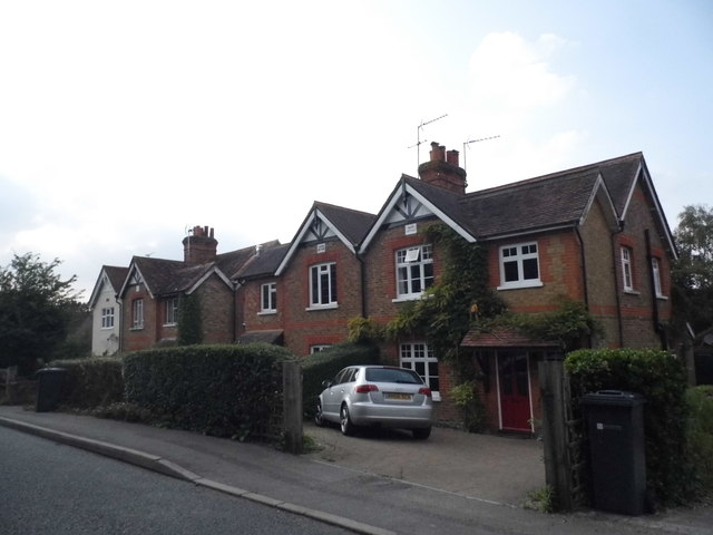 Cottages on Goose Rye Road, Worplesdon
