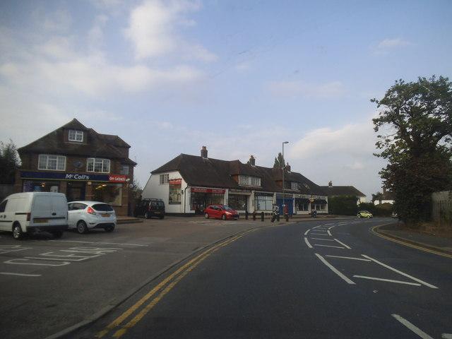 Shops on Westfield Road, Westfield