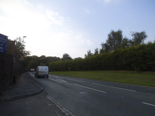 Old Woking Road by Hoe Bridge School