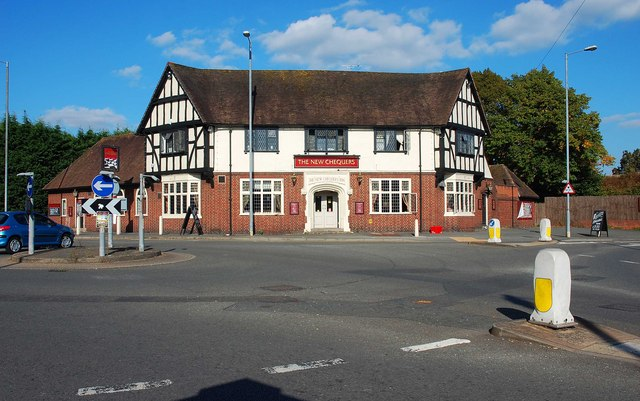The New Chequers (1), 129 Astwood Road, Worcester