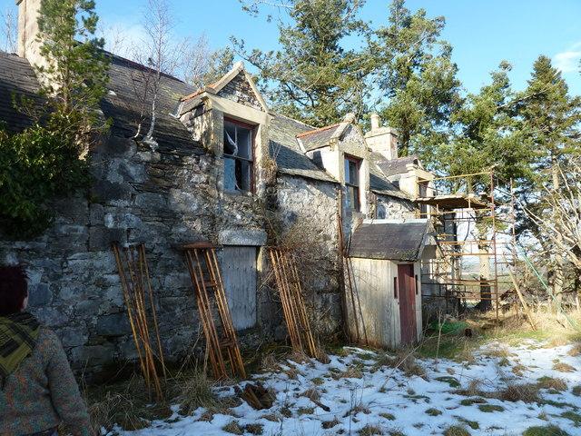 Upper Tullochgrue House