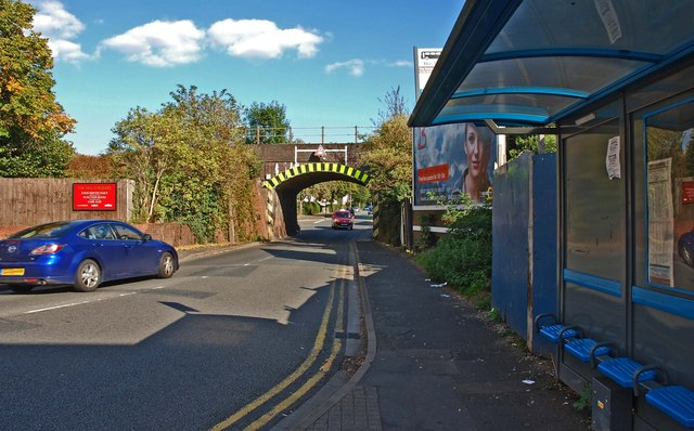 Railway bridge over Brickfields Road, Worcester