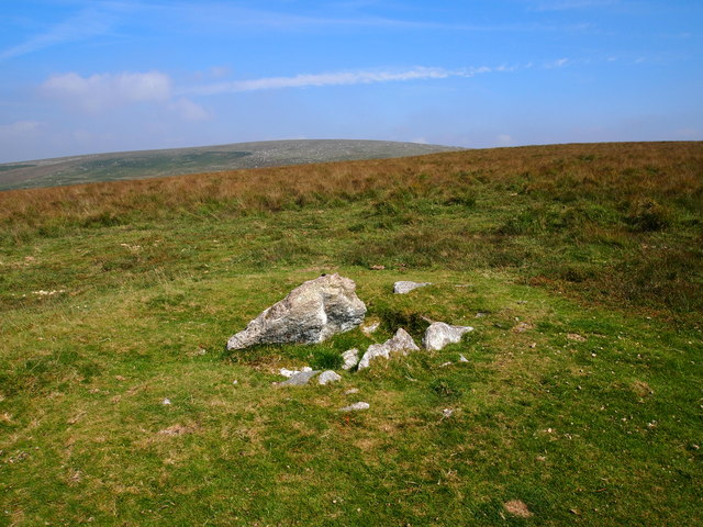 Cairn Above Ditsworthy Warren