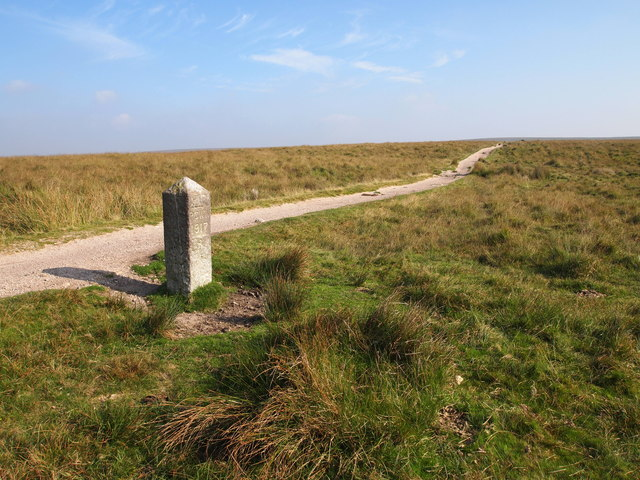 Boundary Stone and Bridleway