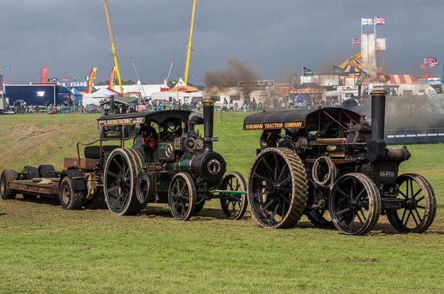 Heavy haulage at the Great Dorset Steam Fair 2014