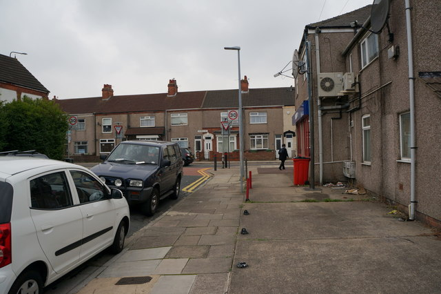 Cooper Road at  Ladysmith Road, Grimsby