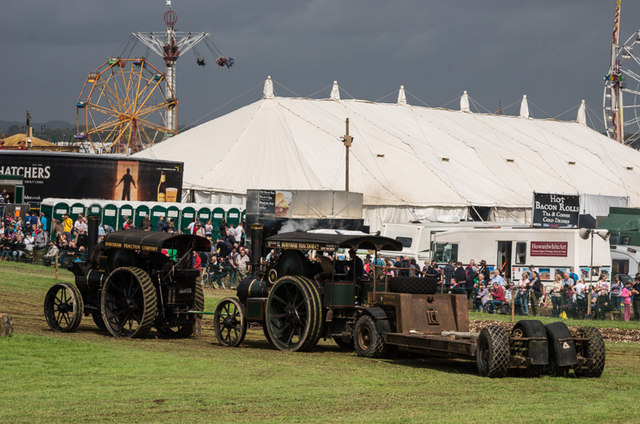 Heavy haulage at the Great Dorset Steam Fair 2014