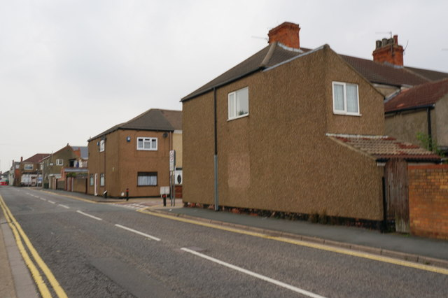 Ropery Street towards Convamore Road, Grimsby